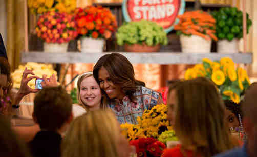 Michelle Obama Launches Healthy Recipe Challenge