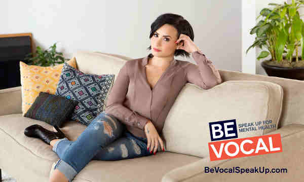 Demi Lovato: Speak Up for Mental Health