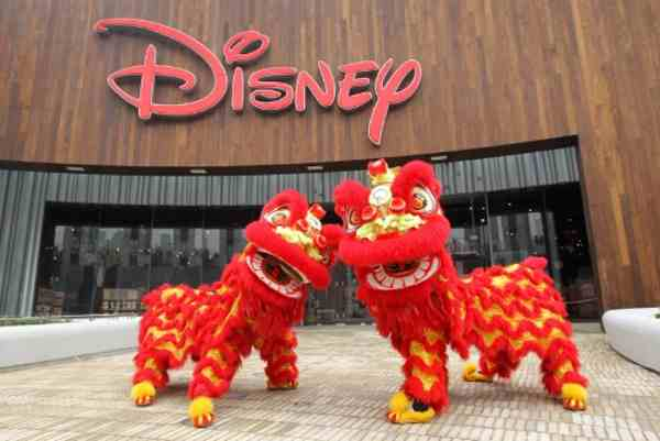 Disney Store opens its first and largest store in the world in Shanghai China