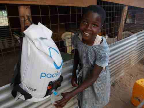 'Buckets to Backpacks' Program in Rwanda