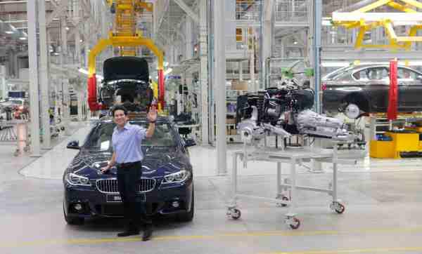 Sachin Tendulkar at BMW Plant Chennai