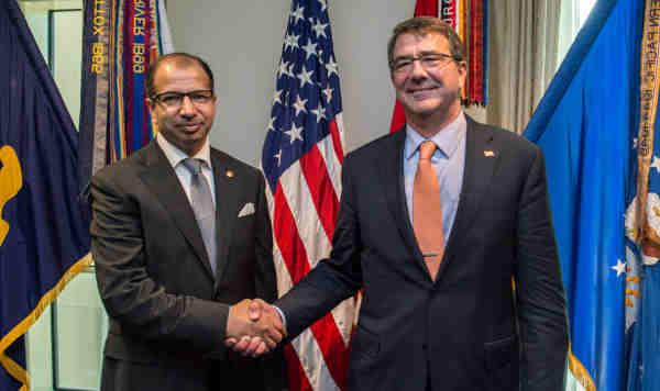 Ash Carter with Salim al-Jibouri