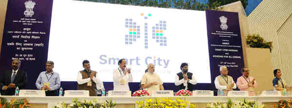 Narendra Modi Launches Smart Cities Project
