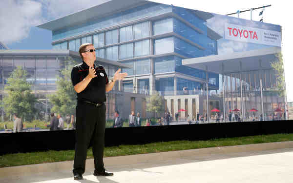 Toyota Unveils Campus Design for New Headquarters