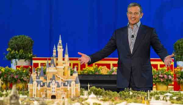 Disney Chairman and CEO Bob Iger revealed a scale model of Shanghai Disneyland