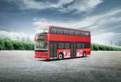 London's Double-Decker Buses to Go Electric