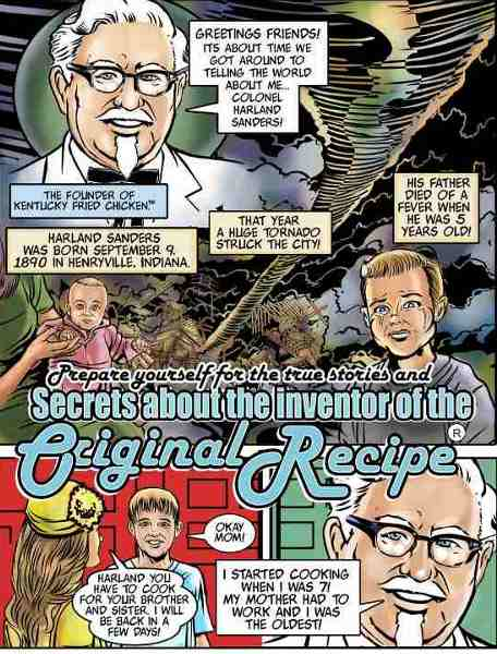 KFC Presents: The Colonel's Adventure Comics