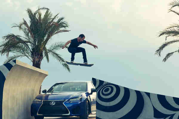 "Lexus Hoverboard Film ""Slide"" Released"