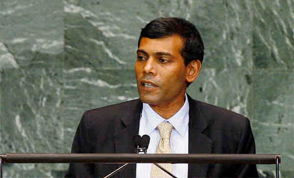 Former President of Maldives Mohamed Nasheed. UN Photo / Devra Berkowitz (file)