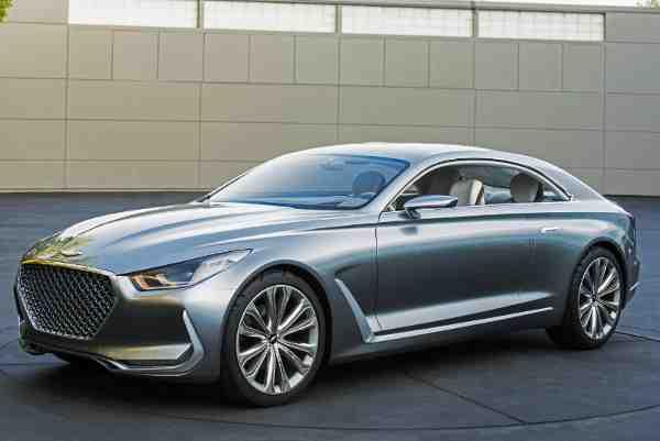 """Hyundai Premieres """"Vision G"""" Coupe Concept"""