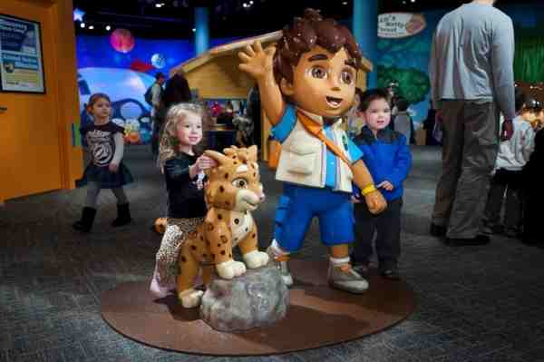Dora & Diego Exhibit at Liberty Science Center