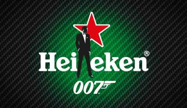 Daniel Craig as James Bond in Heineken Spectre TV Ad
