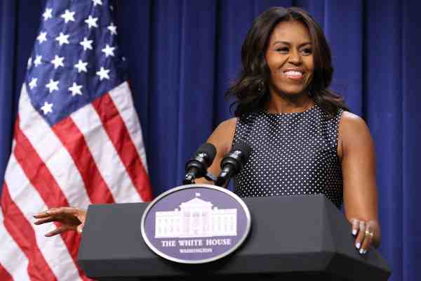 First Lady Michelle Obama Says Let's Move!
