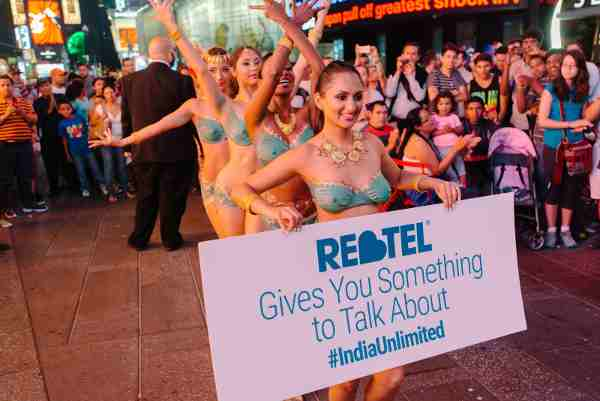 Nude Rebtel Desi Dancers Take Over Times Square