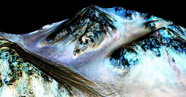 NASA Confirms Water Flows on Mars