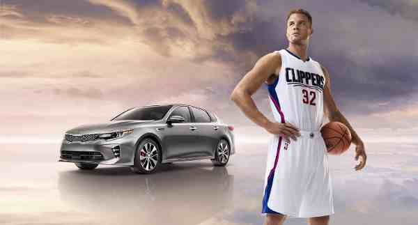 NBA All-Star Blake Griffin Stars in Kia Ad Campaign