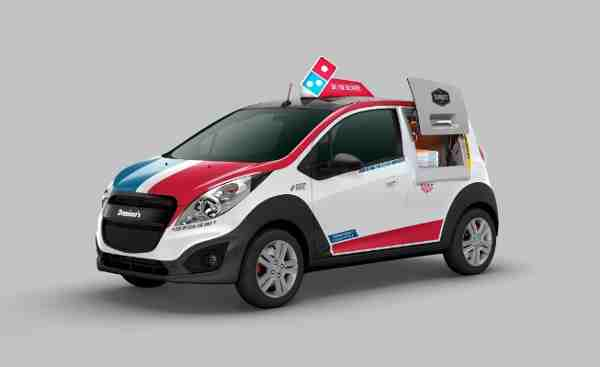 Domino's Launches New Pizza Delivery Vehicle
