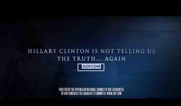 GOP Ad Campaign Targets Hillary and Bernie