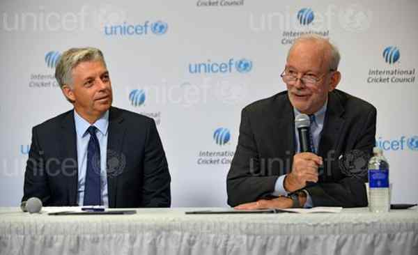 Cricket Council and UNICEF Unite for Children