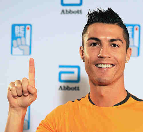Soccer Star Cristiano Ronaldo Asks You to Donate Blood