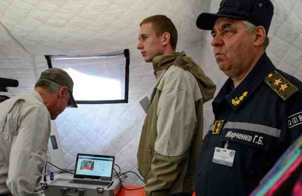 NATO Tests Telemedicine at Conflict in Eastern Ukraine