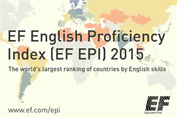 Global Ranking of English Language Skills