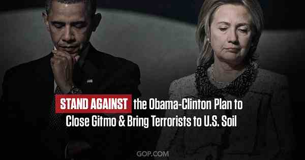 Petition to Stop Obama-Clinton Plan to Close Gitmo