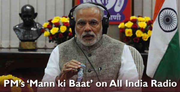 Narendra Modi's Mann Ki Baat