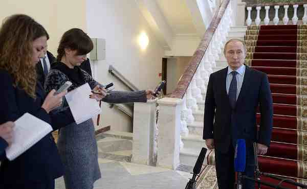 Putin answers journalists' questions following the crash of a Russian military plane in Syria.