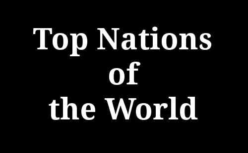 Top Nations of the World