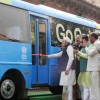 Narendra Modi Unveils Retrofit Electric Bus in India