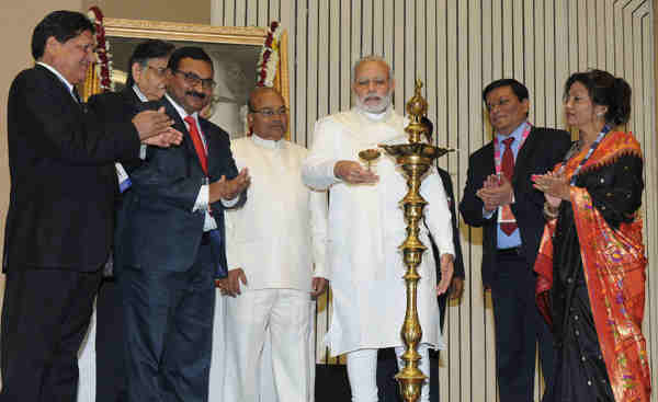 Narendra Modi Opens Conference of Dalit Entrepreneurs