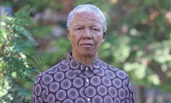 Madame Tussauds Creates Wax Figure of Nelson Mandela