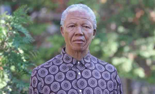Madame Tussauds Creates Wax Figure of Nelson Mandela