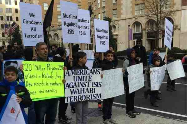 Muslims Hold Rally to Denounce ISIS Terror Group