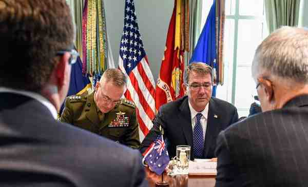Australia, U.S. Discuss Defense Cooperation