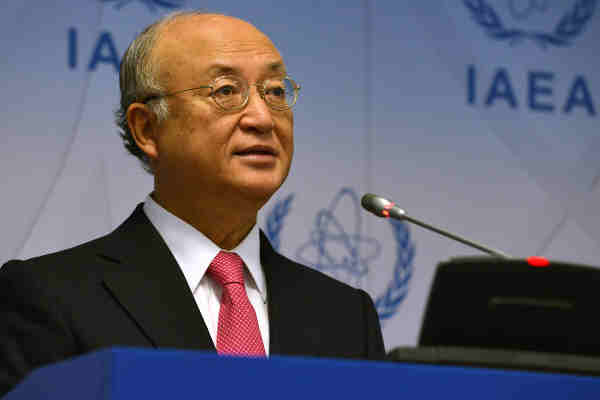 IAEA Director General Yukiya Amano. Photo: IAEA / Dean Calma