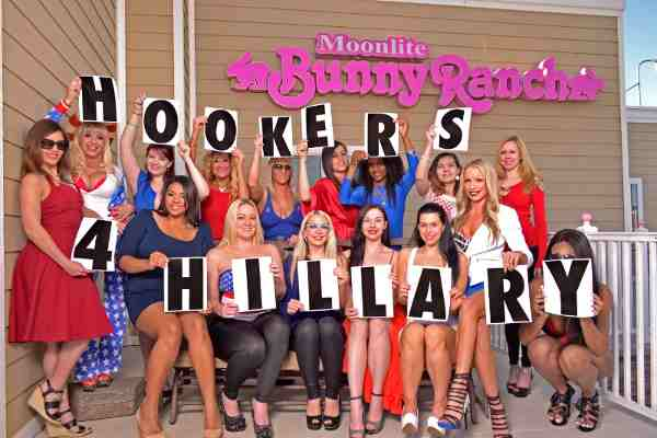 Hookers for Hillary: Sex Workers Endorse Hillary Clinton