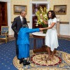 President Obama Dances with a 106 Year Old Woman