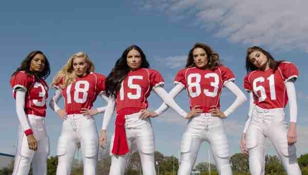 Score More: How Victoria's Secret Angels Play Football
