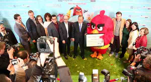 Red from 'Angry Birds' Helps You Stay Happy