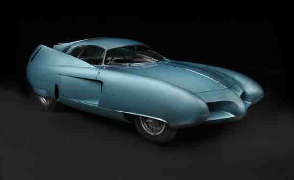 1954 Alfa Romeo BAT 7. The Blackhawk Collection. Photo: 2016 Peter Harholdt