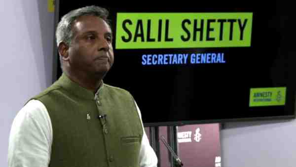 Salil Shetty, Secretary General, Amnesty International