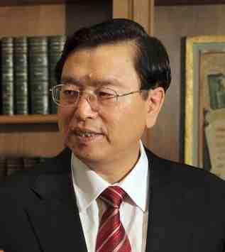 NPC Chairman Zhang Dejiang