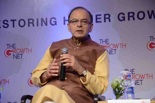 Arun Jaitley, Minister of Finance, Government of India at the opening plenary session of The Growth Net 2016 Summit