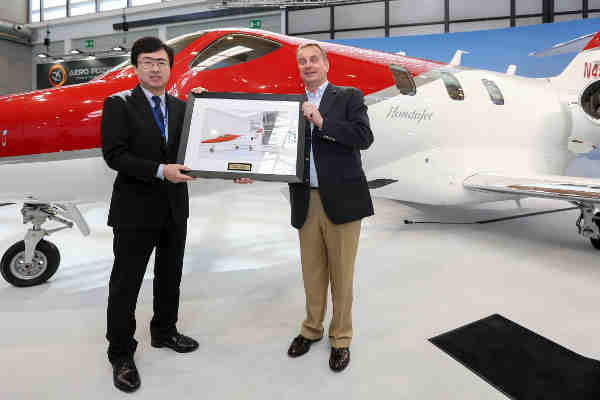 Honda Delivers First HondaJet in Europe