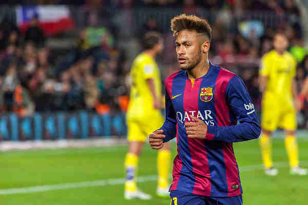 Football Superstar Neymar