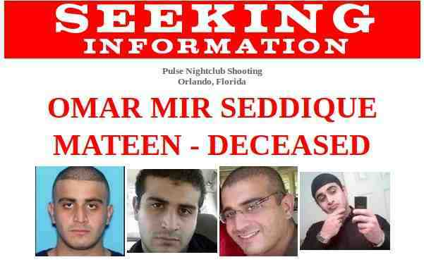 FBI Seeks Information on Orlando Shooting Case