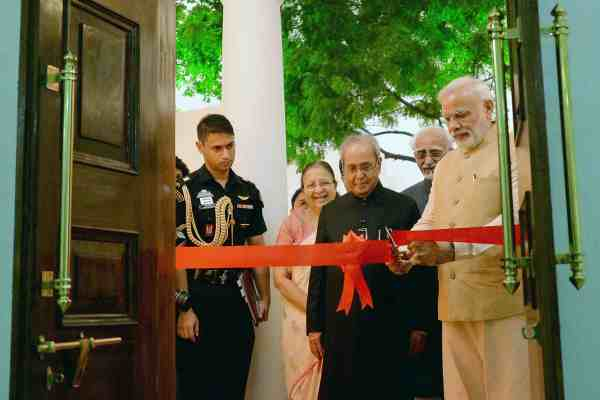 Modi Opens Phase-II of the Rashtrapati Bhawan Museum