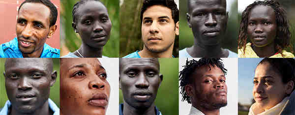 Refugee Olympic Team Gets Ready for Rio 2016